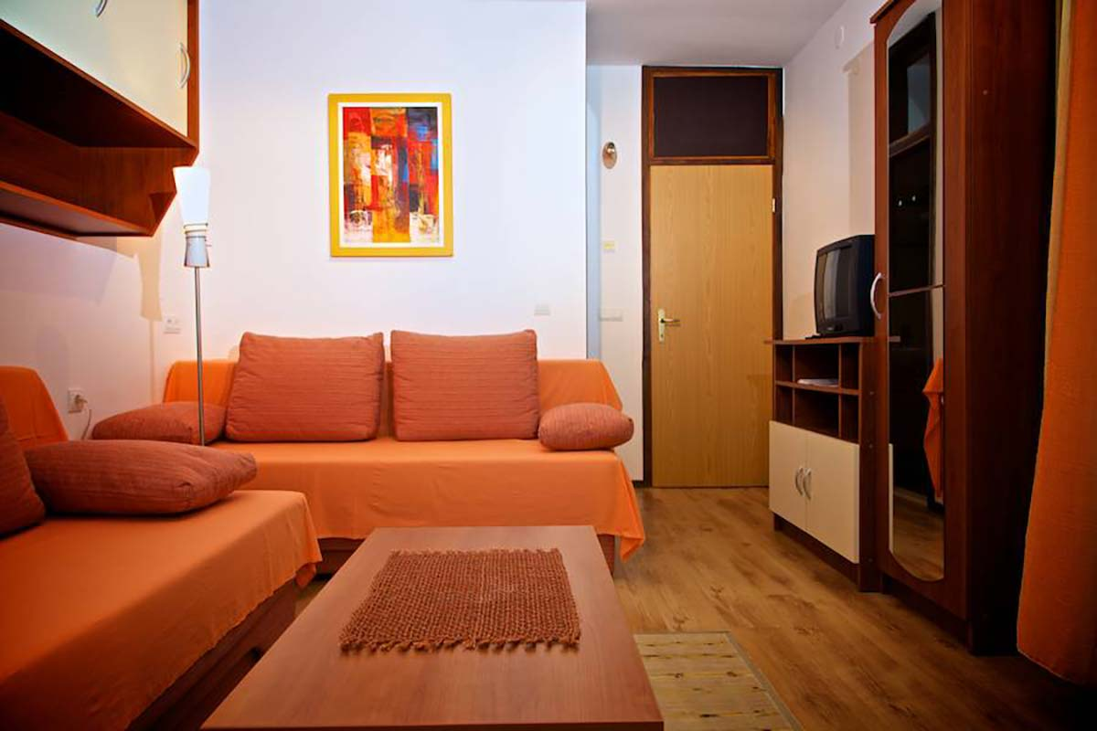 Apartment Rovinj for 2 persons with two air conditioners